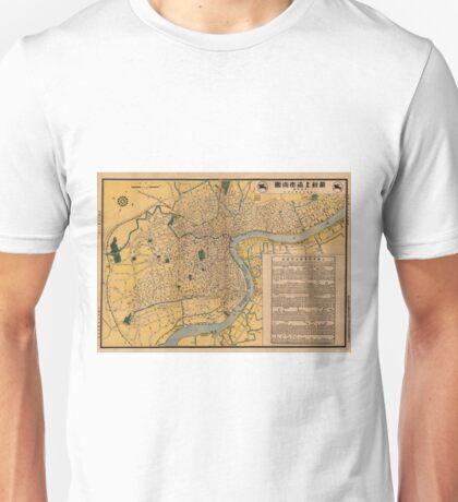 Map Of Shanghai 1947 Unisex T-Shirt