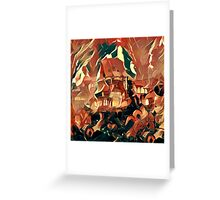 Red Keep Greeting Card
