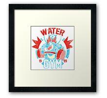 Pokemon - Water Gym Framed Print