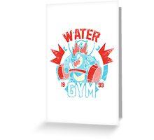 Pokemon - Water Gym Greeting Card