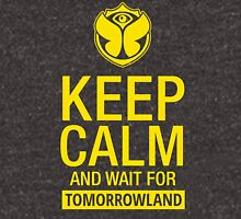 Keep Calm and wait for Tomorrowland festival - Yellow Unisex T-Shirt