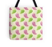 Green & Red Grapes Pattern Remix Tote Bag