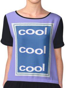 Cool Cool Cool Chiffon Top