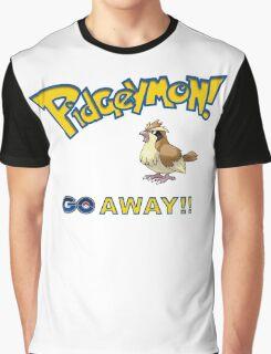 Pidgeymon GO Away!! Graphic T-Shirt