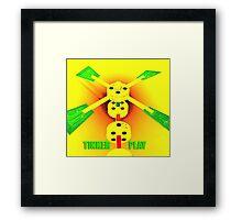 Tinker Play Framed Print