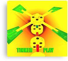Tinker Play Canvas Print