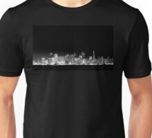 San Francisco Skyline Black & White Unisex T-Shirt