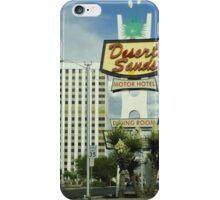 Albuquerque Desert Sands Motor Lodge iPhone Case/Skin