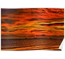 Ocean Springs Sunset Poster