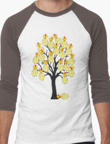 A Pineapple Tree Men's Baseball ¾ T-Shirt