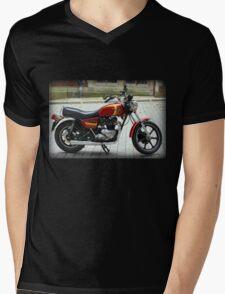 Triumph T140 TSX Mens V-Neck T-Shirt