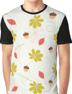 Autumn Pattern Graphic T-Shirt