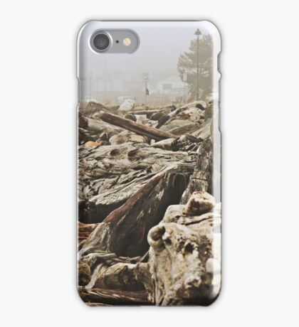 Driftwood on the Beach iPhone Case/Skin