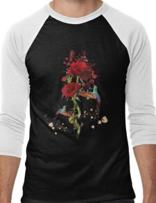 Lovely - Splatter Men's Baseball ¾ T-Shirt