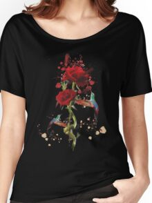 Lovely - Splatter Women's Relaxed Fit T-Shirt
