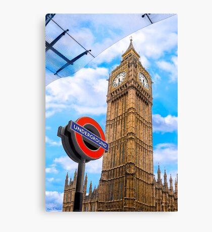 London Icons Canvas Print