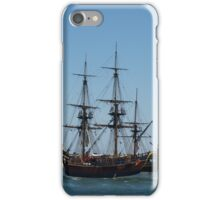 Tall Ship in Fremantle iPhone Case/Skin