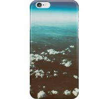 Earth Horizon Photo From 35.000 Feet Altitude iPhone Case/Skin