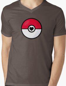 Poke-love Mens V-Neck T-Shirt