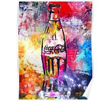 Coca-Cola Painted Poster
