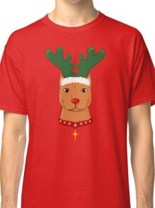 Pit Bull Reindeer Classic T-Shirt