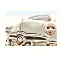 Fifties Classic Rag Top  Art Print