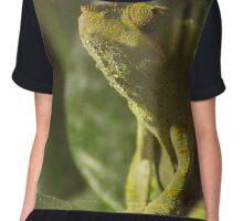 Panther Chameleon (Furcifer pardalis) Chiffon Top