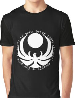 The Nightingales Symbol - Daedric writings Graphic T-Shirt