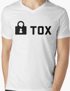 Tox Logo Mens V-Neck T-Shirt