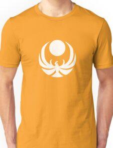 The Nightingales Symbol - simple white Unisex T-Shirt