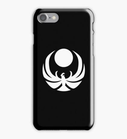 The Nightingales Symbol - simple white iPhone Case/Skin