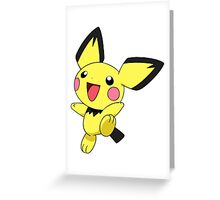 Pichu Greeting Card