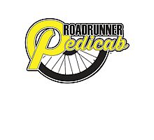Roadrunner Pedicab - Clean Logo Photographic Print