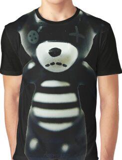 Goth Teddy Bear! Graphic T-Shirt