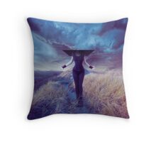Entropic misadventure Throw Pillow