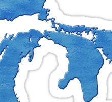 Great Lakes Blues by TeeCreations Sticker