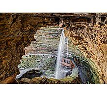 Cavern Cascade at Watkins Glen Photographic Print