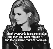 STANA KATIC, QUOTE by stuckinacastle