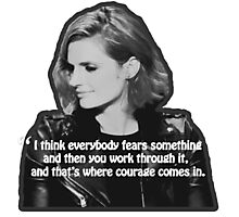 STANA KATIC, QUOTE Photographic Print
