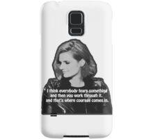 STANA KATIC, QUOTE Samsung Galaxy Case/Skin