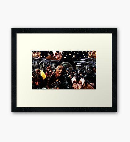 BESTIARY Framed Print