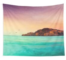Glowing Mediterran Wall Tapestry