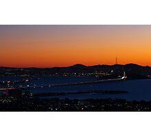 San Francisco Bay Area Photographic Print