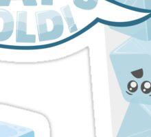Ice Cold Sticker