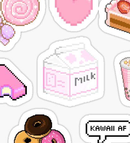 Kawaii Pink Stickers | Multiple Pack Sticker