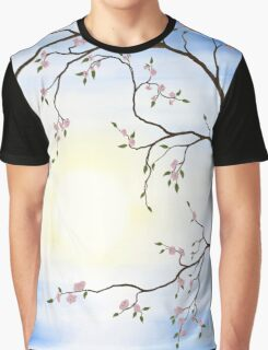 Cherry Blossom art photo print Graphic T-Shirt