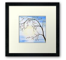 Cherry Blossom art photo print Framed Print