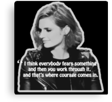 STANA KATIC, QUOTE Canvas Print