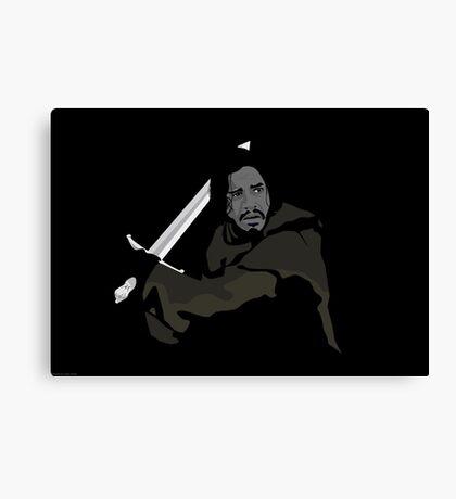 Jon Snow - Caleb Carter Canvas Print