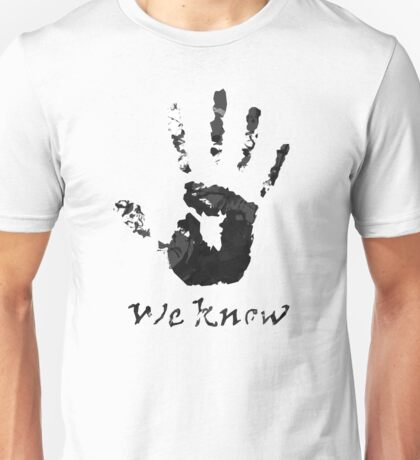 We Know - Dark Brotherhood Unisex T-Shirt